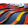 work of art painting sculpture on canvas pop art creation abstraction